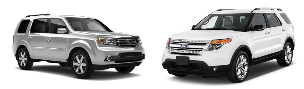 honda pilot or ford explorer
