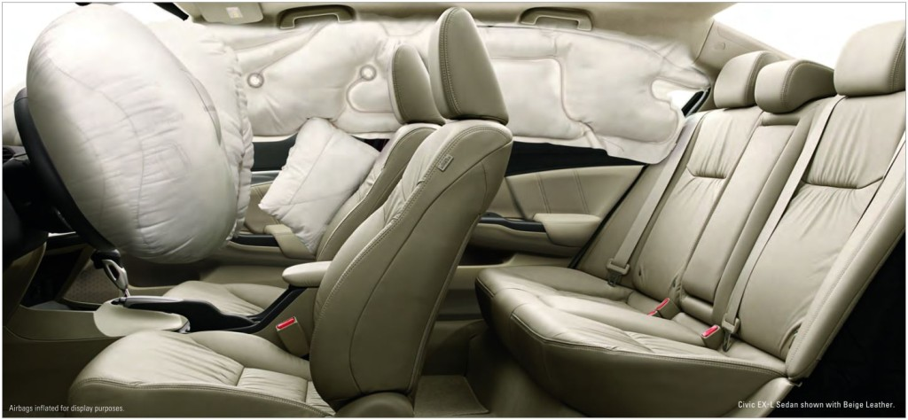 honda civic airbags