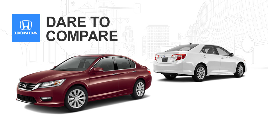 Which car is better honda accord or toyota camry for Honda vs toyota reliability