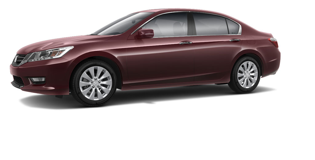 2014 Honda Accord In Basque Red Rear II