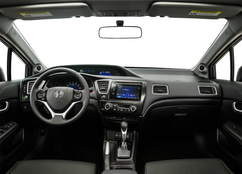 2015 Honda Civic Dash