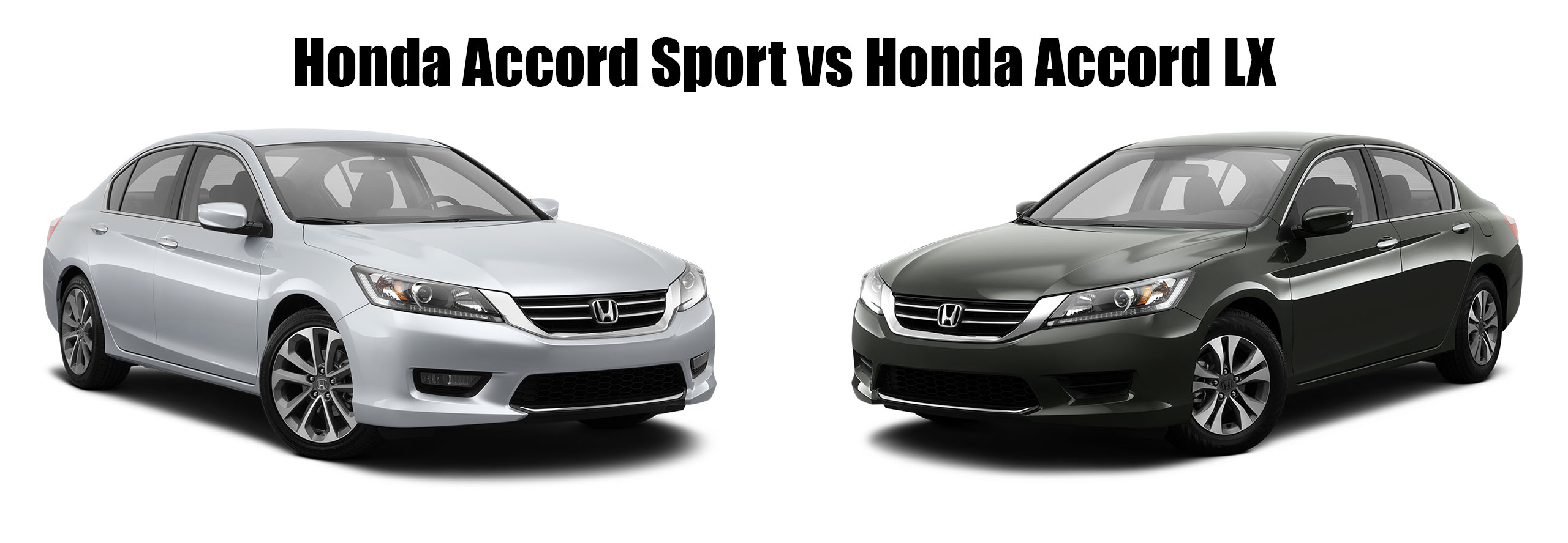 Honda accord sport vs honda accord lx brannon honda for Honda accord vs honda civic
