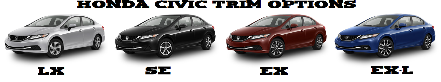 2015 Honda Civic Trims Birmingham