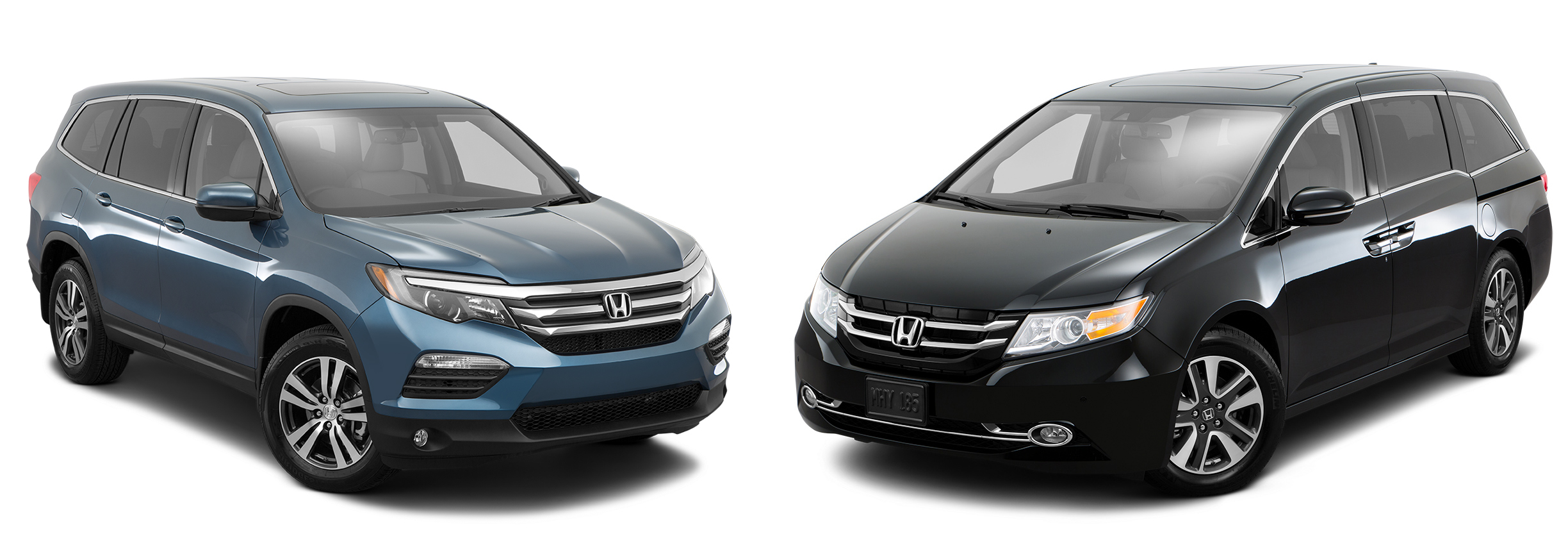 2016 honda odyssey vs 2016 honda pilot brannon honda. Black Bedroom Furniture Sets. Home Design Ideas