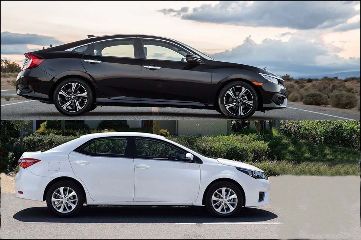 Vehicle matchup honda civic vs toyota corolla brannon for Honda civic specials