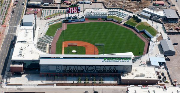 Regions Field Birmingham