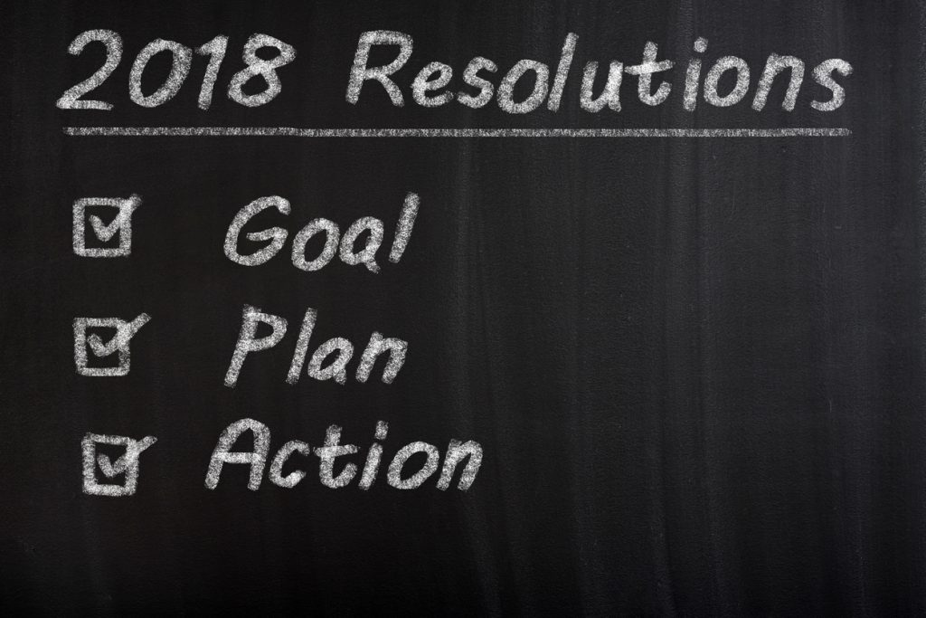 New Year 2018 Resolution Check List