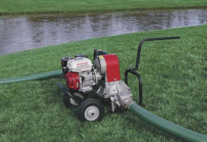 Honda Water Pump Outdoors