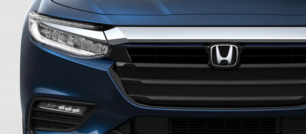Up close shot of a 2020 Honda Insight
