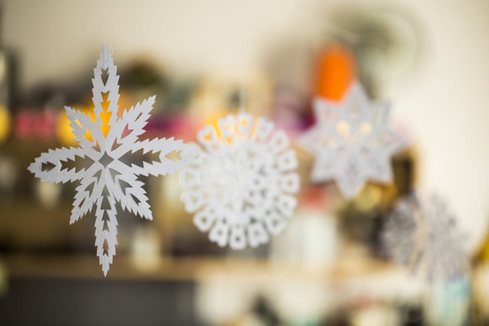 paper snowflake crafts